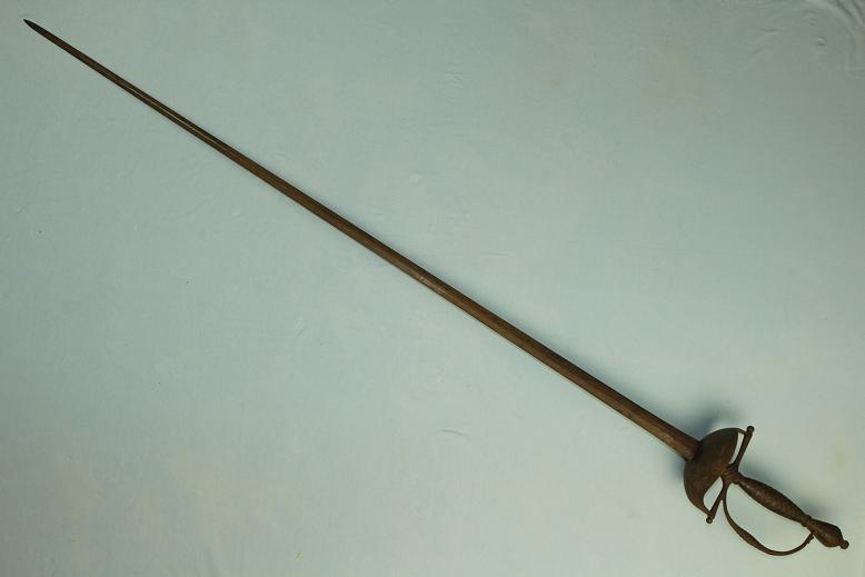 A rare transitional sword rapier to small sword Good untouched condition www.swordsantiqueweapons.com