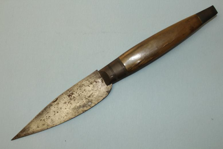A good Navaja Makers mark to blade Seville Spain www.swordsantiqueweapons.com
