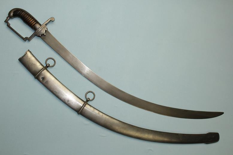 A very rare sabre British 1796 light cavalry Indian wootz steel blade Very rare hilt type Custom officers sword www.swordsantiqueweapons.com