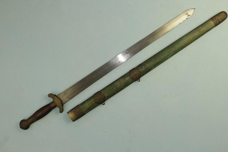 A good Chinese sword A complete Jian Seven Star inlay www.swordsantiqueweapons.com