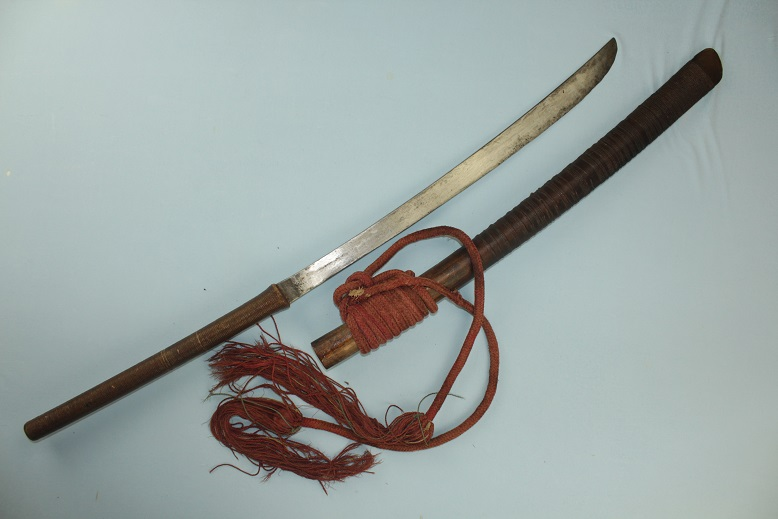 Thai sword Dah dha daab darb fighting sword www.swordsantiqueweapons.com