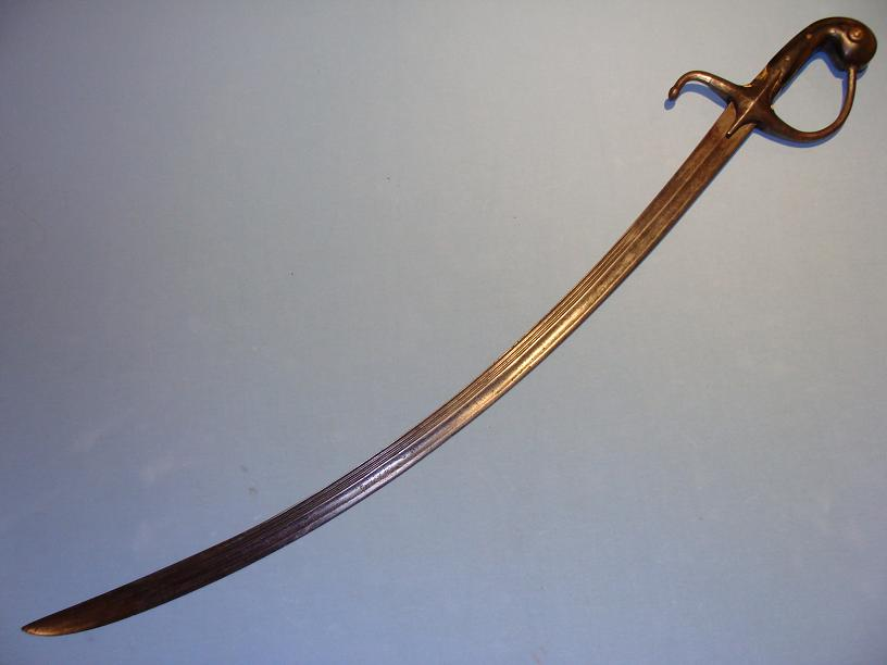 Ottoman Sabre 19th century military sword rare example www.swordsantiqueweapons.com