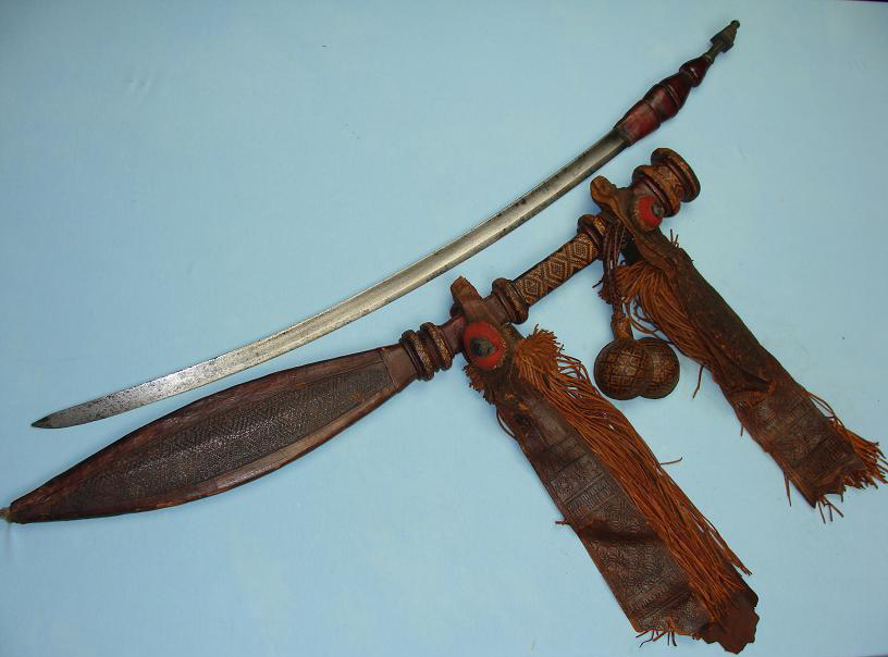 African sword of high standing Mandinka tribes www.swordsantiqueweapons.com