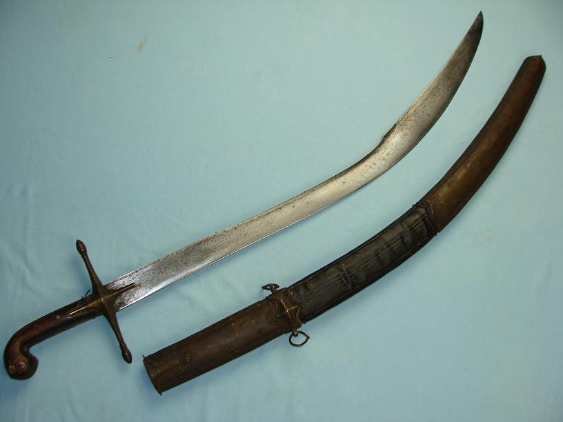 Classic Ottoman sword Early Kilij Kilic fully original & complete<br>untouched example full Ribbon Core blade www.swordsantiqueweapons.com