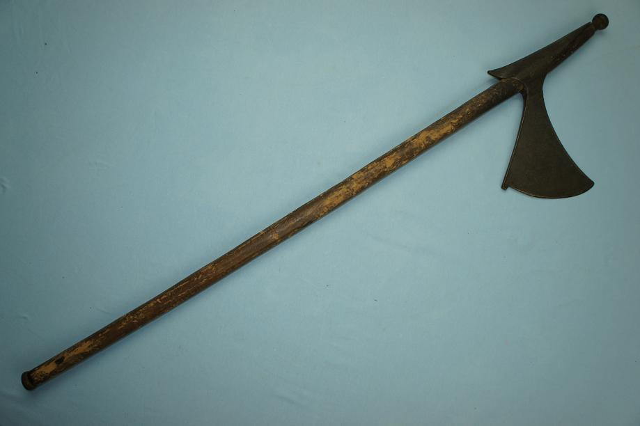A rare Indian axe Khond hill tribes Very unusual example www.swordsantiqueweapons.com