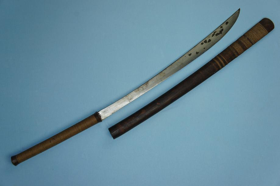 Burmese Dha Early 20th Century Very fine blade type www.swordsantiqueweapons.com