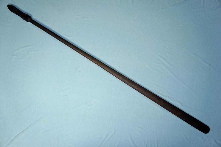 A Maori Taiaha Fighting staff New Zealand www.swordsantiqueweapons.com